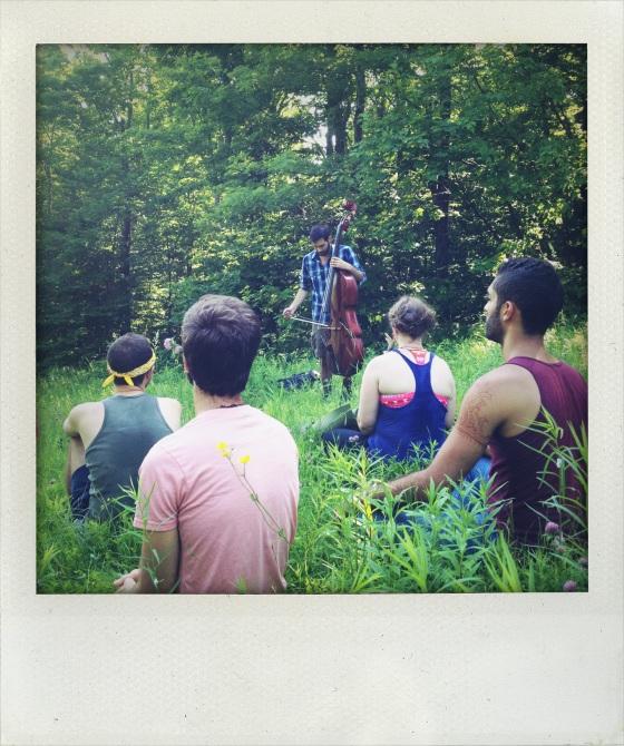Morning meditation hike with Garth Stevenson