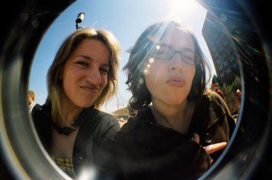 My best Neoscape gal-pal Amanda and I