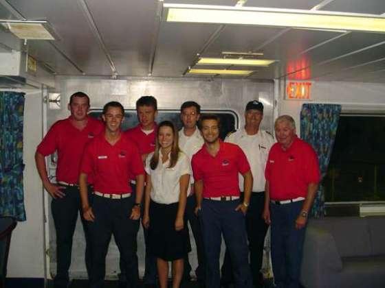The GP crew in 2005