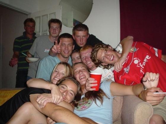Irish party, summer of '04