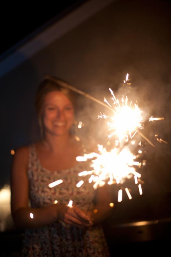 See? I still love sparklers...