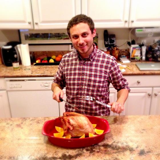 Dan's first turkey