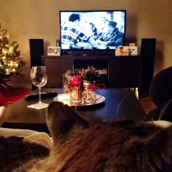 My favorite Christmas tradition: Watching It's a Wonderful life on xmas eve